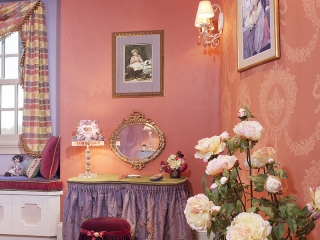 Traditional Interior Design - Grand Mansion Girls Room