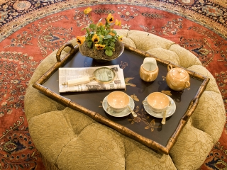 Traditional English Living Room with a Twist 10