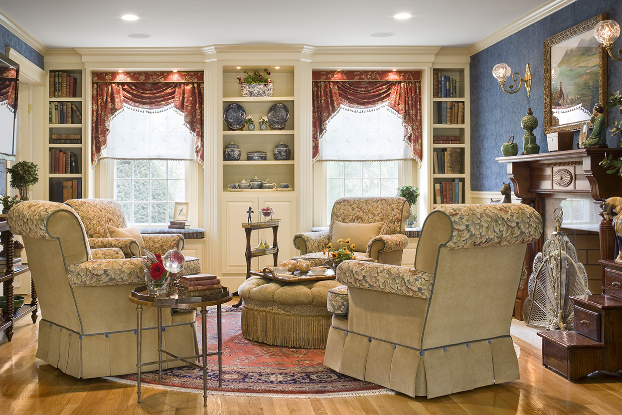 Traditional english living room gallery boston design and interiors inc - Interior design living room traditional ...