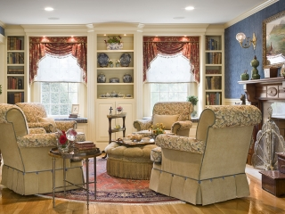 Traditional English Living Room with a Twist 04