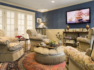 Traditional English Living Room with a Twist 05