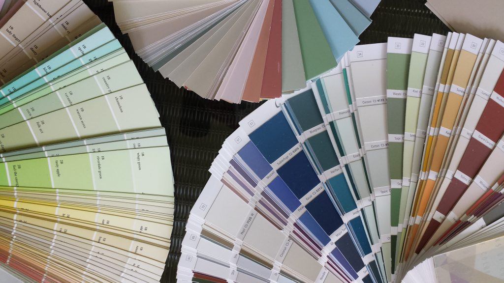 Photo of Paint Color Decks